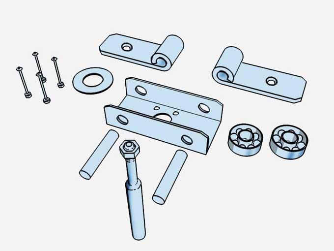 Autogiros m s sobre el rotor y el modo de fijarlo for Mecanismos de estores caseros