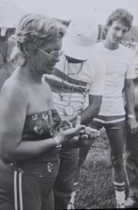 María de los Ángeles en Gtmo, 1989
