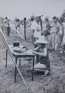 Ángela en Gtmo, 1989
