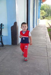 José Antonio Fajardo Mauri tiene un año y 11 meses