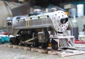 Locomotora artesanal