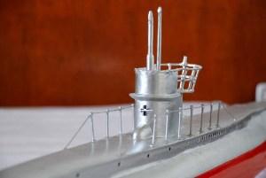 Torreta de submarino de radio control
