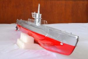 Submarino de radio control