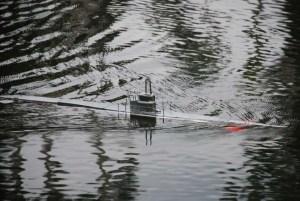 Primer dia de navegación del submarino RC