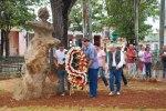Inauguración de busto de Arturo Comas Pons