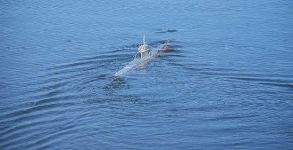 Submarino RC de Wildy