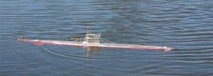 Probando nuevamente el Submarino RC de Wildy