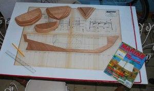 El plano, la quilla y las cuadernas