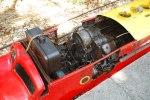 El motor del trencito ha sido reparado muchas veces