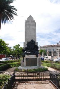 Monumento a los marinos cubanos caidos en la II GM