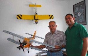 Reyes con el AN-2 de Adrián
