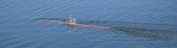 Navegación del sub rc y del Bon Temps