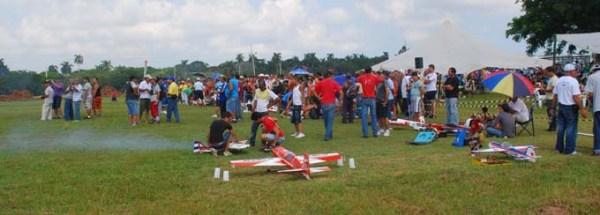 Festival Deportes Aereos Parque Lenin
