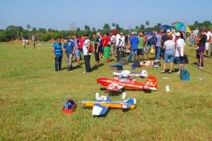 Festival Deportes Aéreos en el Parque Lenin