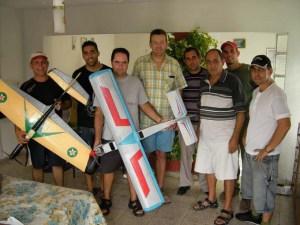 Una visita en Colon, en la casa de Ricardo
