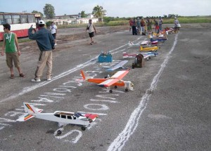 Flightline del evento
