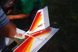 Parque Lenin aeromodelismo