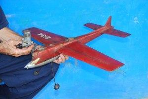 Modelo para proto-speed U-Control diseño propio con su motor Fox 29X