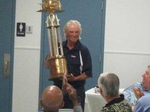 Nacional del 2010  que gano el famoso Werwage aqui con su trofeo