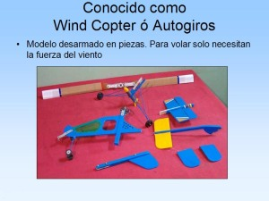 Wind Copter o autogiro