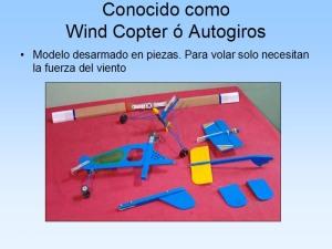 Wind Copter o autogiro