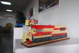 Exposición de maquetas ferroviarias en saludo al dia del ferrovi