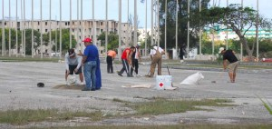 Trabajo del grupo de vuelo circular de la Habana