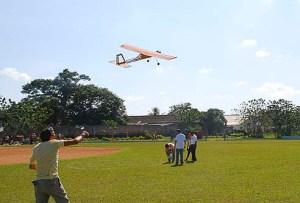 Exhibición de aeromodelismo