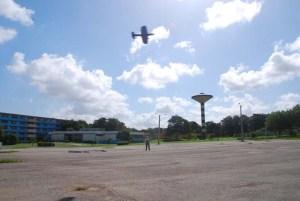 Nueva pista de vuelo circular