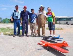 De izq. a derecha: Wildy, Coqui, Cesar Hdez, Camacho y Aris Piñón. Foto: Rolando Castro