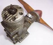 Motor 2,5 cc MVVS RL