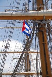 "Training Frigate A.R.A. ""Libertad"" in Havana"