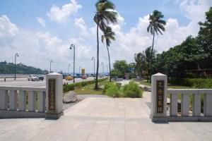 Parque en recordación de Hasekura Tsunenaga, samurai y diplomatico japones, primero en visitar la Habana en 1614. Este parque y estatua ubicado en la Avenida del Puerto le rinden homenaje de recordación