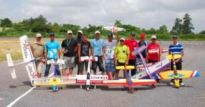 Los aeromodelistas cubanos son ejemplo de no dejarse vencer por las dificultades