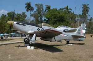 Mustang de la Fuerza Aérea Rebelde