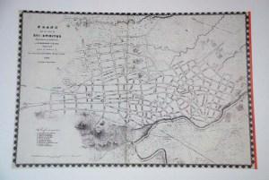 Plano de Sancti Spíriitus en 1860