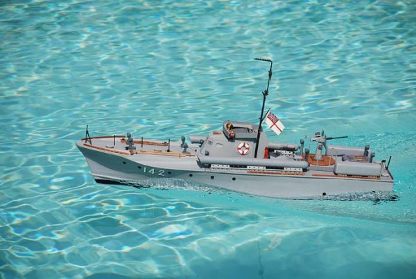 Vosper 70 ft scale 1:30 scratchbuilt by Wildy