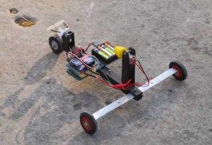 Aerotriciclo RC de Alexis