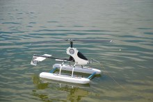 Autogiro con pontones de Alexis