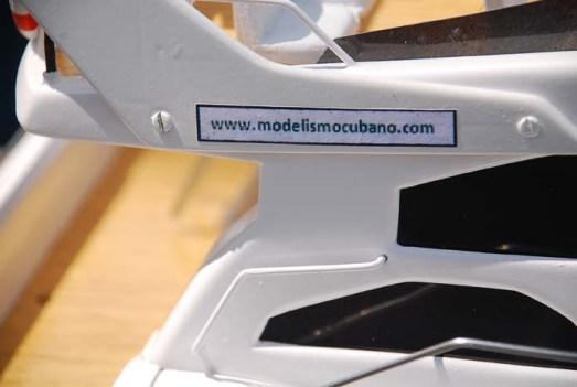 Por primera vez un modelo lleva esta Web: www.modelismocubano.com