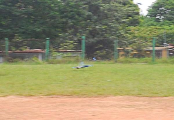 Instante del accidente del avión de Camacho