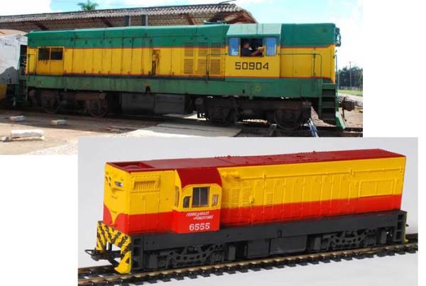 900 (G8) original en Cuba y modelo de Frateschi