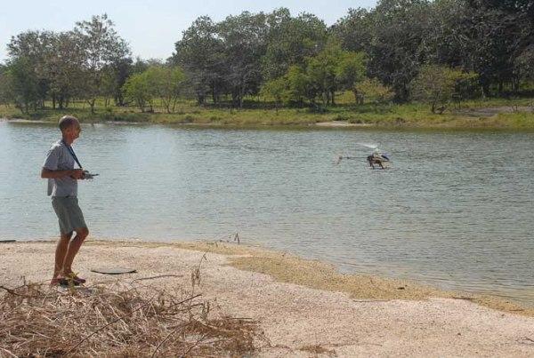 Domingo en la presa del Zoo Nacional