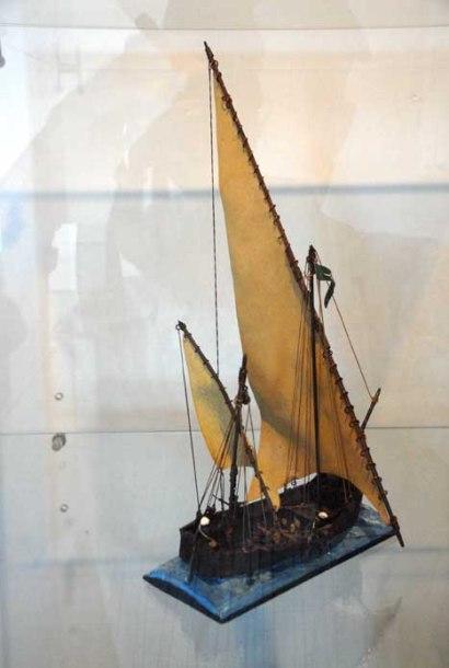 Exposición de modelismo en el museo Castillo de la Real Fuerza