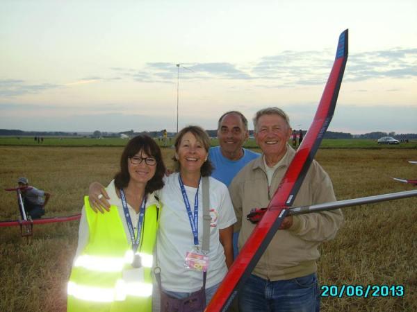 Mundial Francia de DER a IZQ Verbitsky yo, mi esposa y la ukraniana Luda