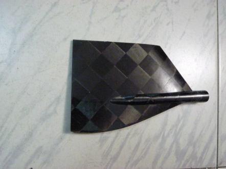 Timon hecho en Carbono de mi modelo F1C