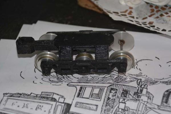 José Enrique Pérez llevó un truck construido usando la impresión 3D en sus partes plásricas