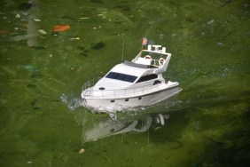 Navegando en la Quinta de los Molinos