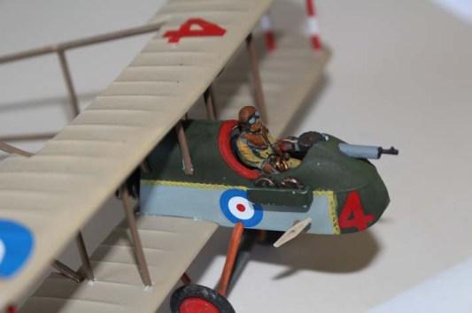 AIRCO DH-II piloto