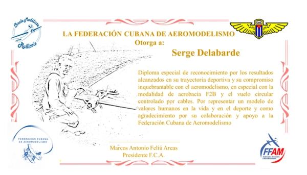 Diploma para Serge